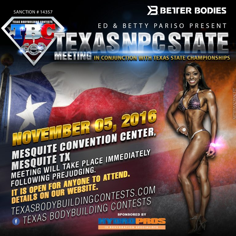 2016 Texas State Meeting -2
