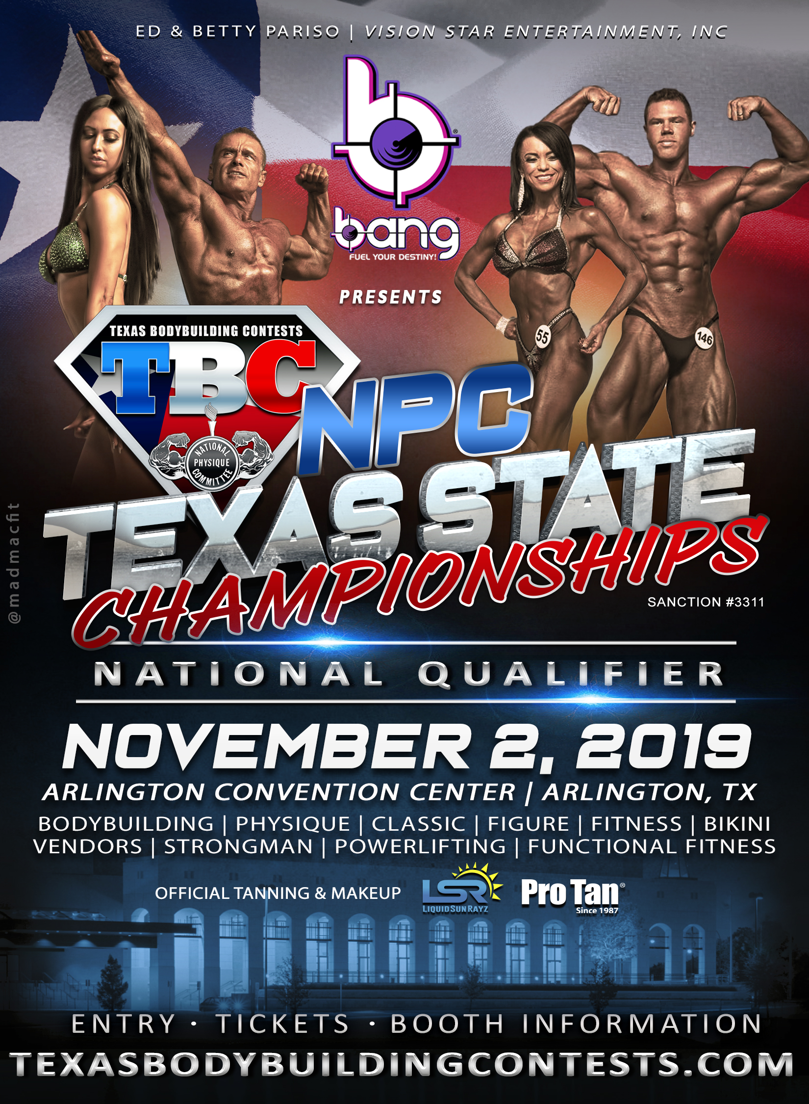 Npc Texas 2019 Schedule NPC Texas State Championships | Texas National Physique Committee