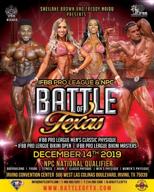 Texas National Physique Committee | Official Website