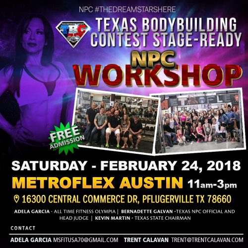 Texas National Physique Committee